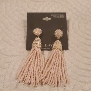 New never worn statement earrings